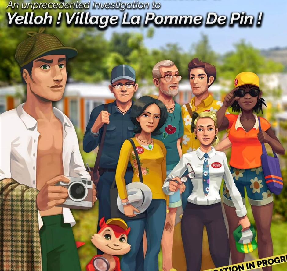 explore game - Camping pomme de pin